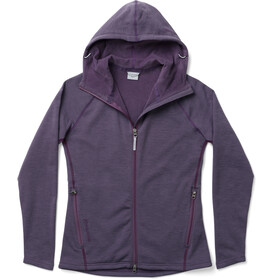 Houdini Outright Houdi Fleece Jacket Dame light prince purple